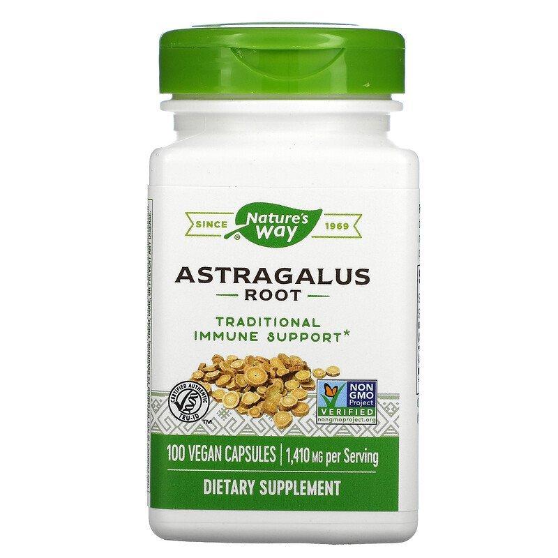 Nature's Way, Astragalus Root, 1,410mg/Serving, 100 Vegan Capsules