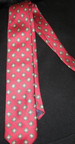 Polo by Ralph Lauren Red Patterned NeckTie
