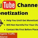 Youtube Monetization Service Youtube Watch times and subscribers