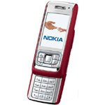 Nokia E65 Eseries (Red/Silver) Mobile Phone