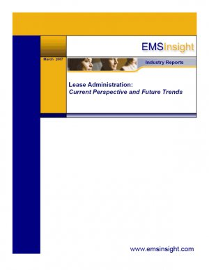 Lease Administration: Current Perspective and Future Trends