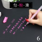 1PC 0.8mm White Transparent Paint Marker Pens Highlight Liner Sketch Markers For Kids Writing Art Ma