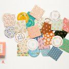 40 Pcs/Pack Kawaii Flowers Pattern Decoracion Diary Christmas Stickers Scrapbooking Stationery Stick