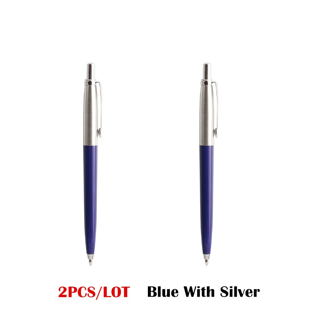 Office Pen Commercial metal ballpoint pen gift stationery core automatic Roller ball pen for school