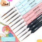 10 piece type Hook line pen watercolor soft hair oil painting extra fine weasel hair Hand Painted br