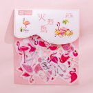 80 pcs/bag Japanese Stationery Stickers Cute Cat Sticky Paper Kawaii PVC Diary Bear sticker For Deco