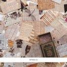 Mr.paper 100pcs/box Vintage Story Kraft Paper Scrapbooking/Card Making/Journaling Project DIY Diary