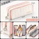 Large Capacity Pencil Case Kawaii Canvas Pencilcase School 40Pcs Pen Case Supplies Pencil Bag School