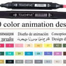 TouchFIVE Markers Hand Painted Manga Drawing Markers Pen Alcohol Based Sketch Oily Twin Brush Pen Bo