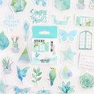 46pcs/pack Cute Pink Girl Series Boxed Kawaii Stickers Planner Scrapbooking School Stationery Japane