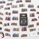 45 Pcs/Box Cute Book Flower Stationery Sticker Scenery Travel Sticker Decorative Adhesive Sticker Di