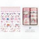 Mr Paper 26 Designs 10pcs/box Cute Cartoon Animals Washi Tapes Scrapbooking DIY Deco Creative Japane