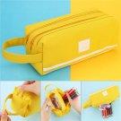 Colorful Large Capacity Pencil Cases Bags Creative Korea Fabric Pen Box Pouch Case School Office Sta