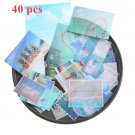 40 Pcs/lot Kawaii Stickers Vintage INS Style  Photo Stickers for Srapbooking Decoration Journal Stat
