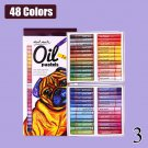 Professional Painting Oil Pastel 12/25/50 Colors Graffiti Soft Pastel Drawing Pen for Artist School