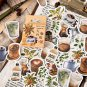 46 Pcs/set Vintage Stickers Cartoon Food Bullet Journal Stickers scrapbooking School Stationery Stic