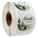 500pcs/roll thank you stickers seal labels handmade custom sticker scrapbooking for gift decoration