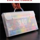 Brutfuner 160 Colors Professional Oil Color Pencils Set Lapis De Cor Artist Painting Sketching Color