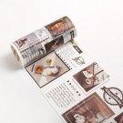 1 PCS Vintage Washi Tape Fall Film Masking Tape Diary Diy Scrapbooking  Journal Stationery School Of