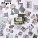 60/40 Pcs/lot Stickers Vintage Journal Stickers Travel Stickers Srapbooking Journal Craft Diary Ablu