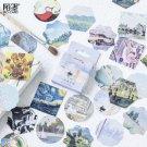 45pcs/box Stationery Stickers Decorative Stickers Scrapbooking Stick Label Diary Album  Supplies - m