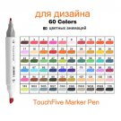 Touchfive Markers Sets markers for drawing painting set sketch marker pen set 24/30/48/60/80/168 Col