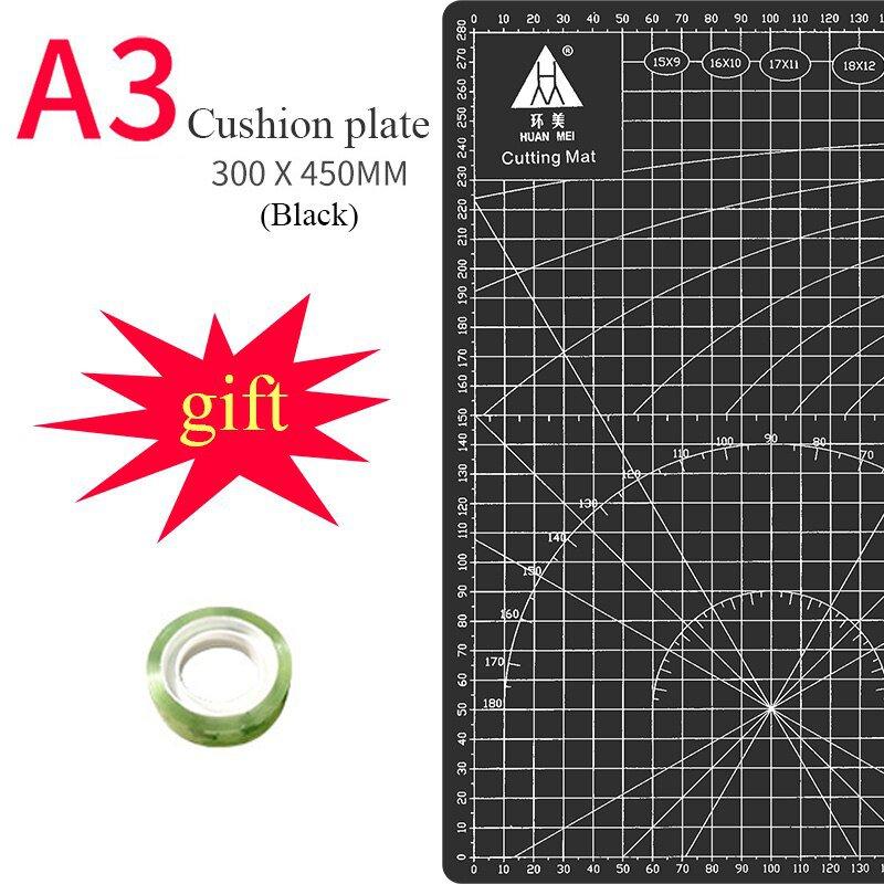 A3 Cutting Mats Cushion Board Large Handwritten Test Paper Drawing Beauty WorkbeScaling Model Rubber
