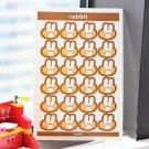 1 Sheet Cute Colorful Heart Sticker Kawaii Round Decorative Sticker DIY  Sticker Diary Scrapbooking