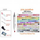 Alcohol Based Markers Touchfive for Drawing Painting Sketch Marker Pen Set Dual tip 30/40/60/80/168