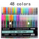Jonvon Satone 48 Colors Pen Function Pens Painting Supplies Stationery Drawing Markers Pen Escolar W