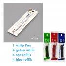 Original KACO 4 In 1 Multifunction Pens 0.5mm Black Blue Red Refill Gel Pen Mechanical Pencil Japane
