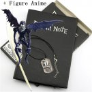 A5 Anime Death Note Notebook Set Leather Journal and Necklace Feather Pen Journal Death Note Pad for