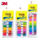 Removable indicator label 683-9CF/6CF/5CF color pagination label memo pad sticky notes 3M post-it sa