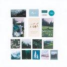 Mr.paper 8 Designs Artistic Fantasy Sky Ins Collage Deco Stickers Scrapbooking Bullet Journal Popula