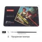 CHENYU 12/24/36/48/72 Watercolor Pencils Premium Soft Core lapis de cor Professional Soluble color P