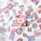 80 Pcs/set Vintage Stikcers Retro  Jouranl StickersTravel Srapbooking Journal Craft Diary Ablum Deco