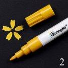 0.5MM Acrylic Drawing Graffiti Marker Pen 18 Colors Signing Pen  Ceramic Black Card Pen Color Drawin
