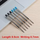 2/6/10/PCS Metal Ballpoint Pen Promotional Pens G2 Refill Blue Ink Automatic Ballpoint Pens Set For