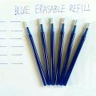 Magic Erasable Pen Refill Blue Ink 0.7mm Friction Pen Frixion Refill Pen School Office Writing Suppl