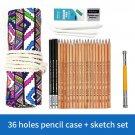 Sketch set pencil storage full set of adult sketch painting tool set beginner sketch drawing art  su
