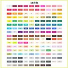 Professional Art Markers Tips TOUCHNEW 30/40/60/80/168 Colors Art Drawing/Painting Manga Markers Alc