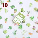 50Pcs/Box Kawaii Unicorn Sticker Cute Stationery Stickers List Diary Stickers For Kids DIY Diary Scr