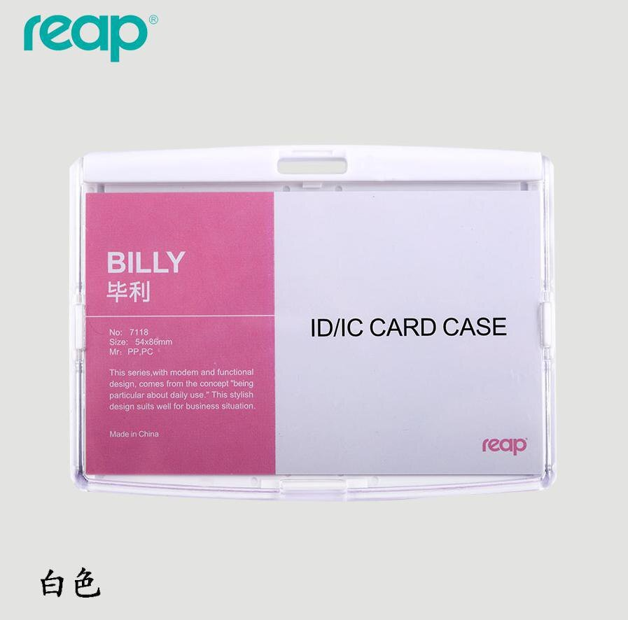 ID Card holder   Acrylic Badges  Passport  IC  Work Permit Card name Tag  Employee Badge holder  (st