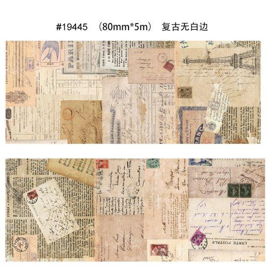 Free Shipping washi tape,Anrich washi tape,ancient,newspaper,fish,customizable sale price newspaper
