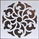1pc 15*15 Painting Stencil DIY drawing Mandala style Laser Cut Wall Stencil Painting for Wood Floor