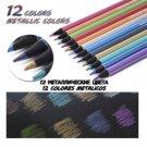 Andstal 48/72/120/160 Colors Professional Color Pencil Set Oil Watercolor Wood Colored Pencils paint