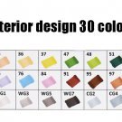 Art Marker 30/40/60/80/168Colors Alcohol Based Pen Markers Dual Head Sketch Markers Brush Pen For Dr