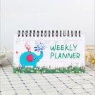 Kawaii Notebook Portable 2020 2021 Agenda A6 Diary Journal Weekly Monthly Planner School Supplies St