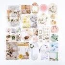 Mr.paper 40Pcs/bag Art History Mushroom Ginkgo Pet Deco Diary Stickers Scrapbooking Planner Decorati