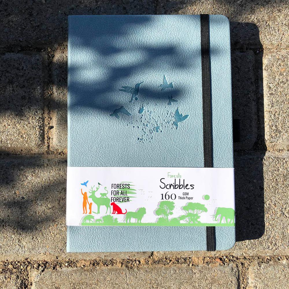 BUKE Dot Grid Notebook Dotted Watercolor Journal Sketchbook Thicken Paper 180GSM 160GSM Dotted160 Pa